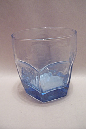 Libby 6-sided Light Blue Glass High Ball Sizetumbler
