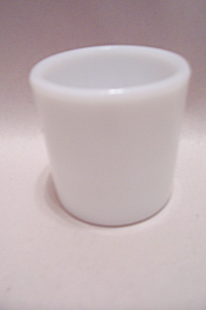 Milk Glass Toothpick Holder