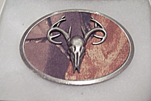 Deer Head Men's Belt Buckle (Image1)