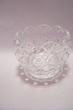 Lead Crystal Glass Bowl