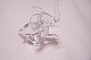 Crystal Glass Elephant (Image1)