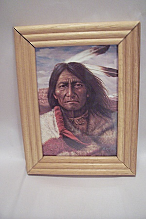 Native American Chief Portrait Art Print (Image1)