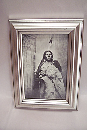 Black & White Native American Photographic Image Print (Image1)