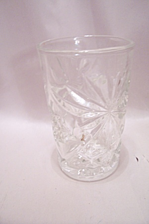Early American Prescut Crystal Glass Juice Tumbler (Image1)