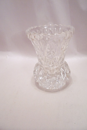 Crystal Glass Pineapple Shaped Toothpick Holder
