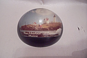 Bar Harbor, Maine Souvenir Paperweight