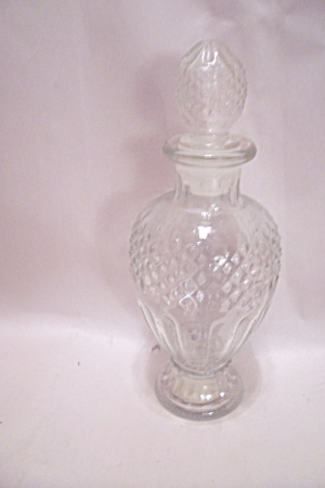 Avon Skin-so-soft Crystal Glass Bottle