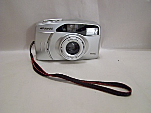 Polaroid Pz2001 Power Zoom Rangefinder 35mm Film Camera