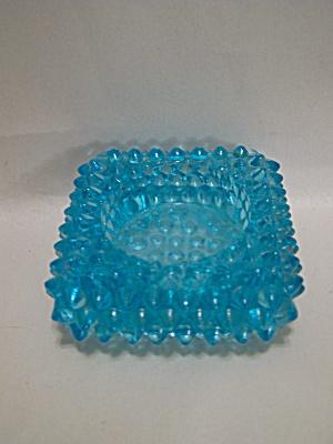 Fenton Light Blue Hobnailed Art Glass Salter (Image1)