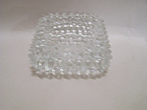 Fenton Crystal Hobnailed Art Glass Salter