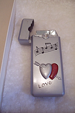 "Butane ""love"" Pocket Lighter"