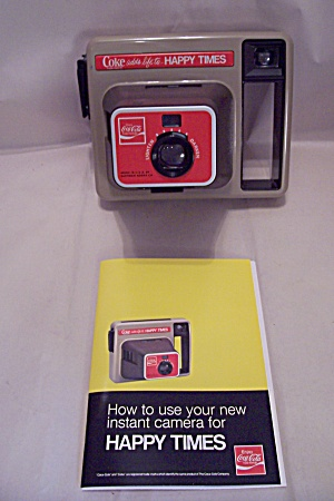 Cocal Cola Commemorative Kodak Instant Camera (Image1)