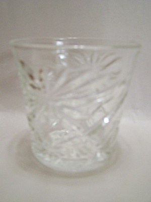 Anchor Hocking/fire King Eapc Crystal Tumbler