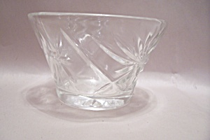 Anchor Hocking/fire King Eapc Crystal Glass Sherbet