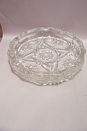 Anchor Hocking/Fire King EAPC Crystal Glass Ash Tray (Image1)