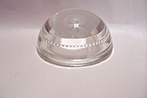 Crystal Glass Magnifying Dome/paperweight