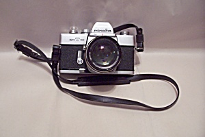 Minolta Srt101 Slr 35mm Film Camera