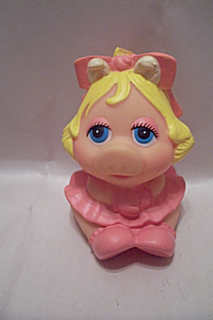 Miss Piggy Rubber Squeeze Toy (Image1)