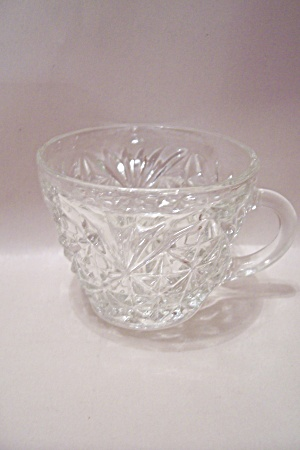 Fire King/anchor Hocking Oatmeal Pattern Cup