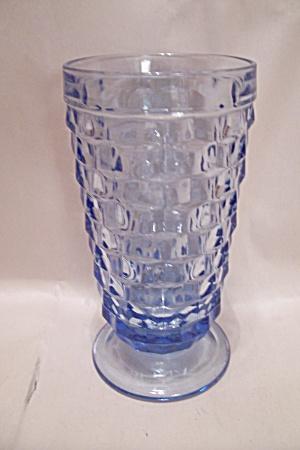 Indiana Whitehall Pattern Light Blue Glass Tumbler Glass