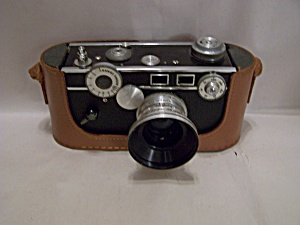 Argus C3 35mm Rangefinder Film Camera With Accessories