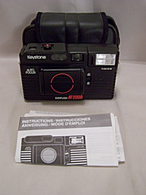 Keystone Everflash Af 2000 35mm Film Camera