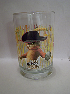 MacDonald's Advertising Puss N' Boots Glass Tumbler (Image1)