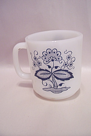 Fire King/anchor Hocking White/milk Glass Mug