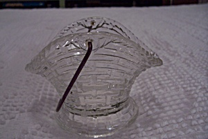 Crystal Glass Coal Skuttle/pail Ash Tray