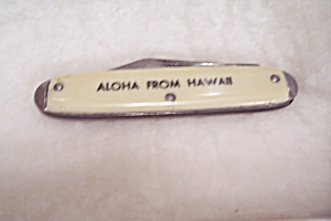Aloha From Hawaii Souvenir 2-Bladed Pocket Knife (Image1)