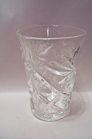 Fire King/anchor Hocking Eapc Crystal Juice Tumbler
