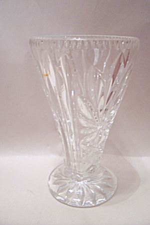 Fire King/anchor Hocking Pineapple Pattern Footed Vase