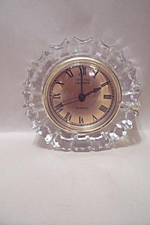 Godinger Crystal Legends Clock (Image1)