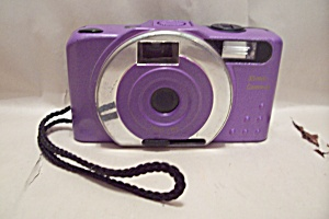 Purple 35mm Film Camera