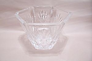 Crystal Glass Hexagonal Vase (Image1)