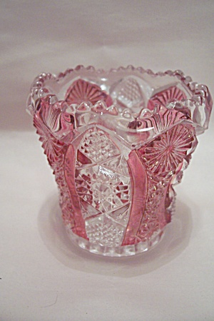 Federal Pattern Glass Toothpick Holder