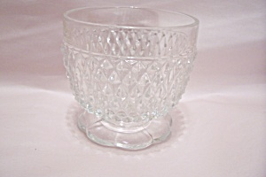 Crystal Glass Footed Bowl (Image1)