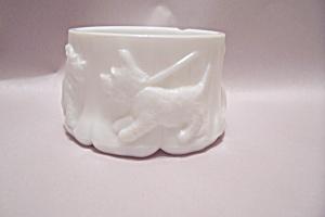 Scotty Dog Milk Glass Bowl (Image1)