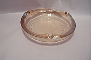 Light Amber Glass Ash Tray (Image1)