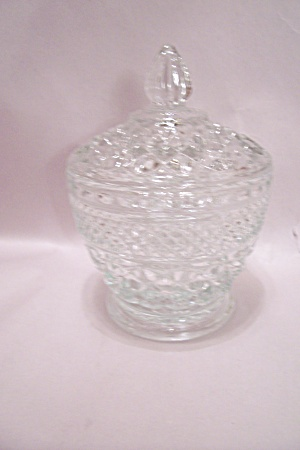 Fire King/anchor Hocking Wexford Pattern Sugar W/lid