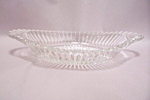 Crystal Glass Gondola Relish Dish (Image1)