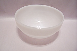 Fire King/anchor Hocking Milk Glass Oven Proof Bowl