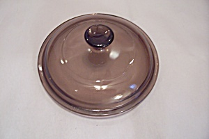 Pyrex Light Amber Glass Casserole Oven Proof Lid