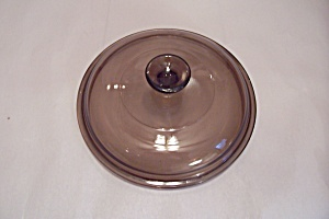Pyrex Light Amber Oven Proof Casserole Lid