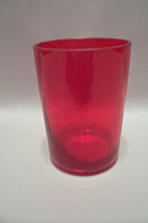 Anchor Hocking/Fire King Royal Ruby Wine Tumbler (Image1)
