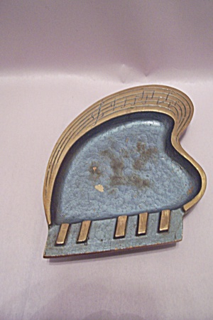 Brass Piano Shaped Ash Tray