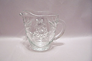 Fire King/Anchor Hocking EAPC Crystal Glass Creamer (Image1)