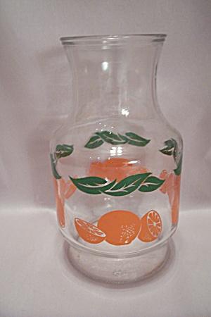 Anchor Hocking Orange Juice & Water Refrigerator Jar (Image1)
