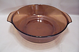 Fire King/Anchor Hocking Harvest Amber Oven Ware Bowl (Image1)