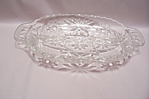 Fire King/Anchor Hocking EAPC Divided Oval Relish Dish (Image1)